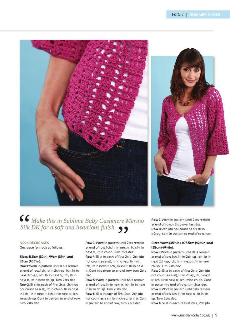 Inside Crochet Issue 8 2010 - 轻描淡写 - 轻描淡写