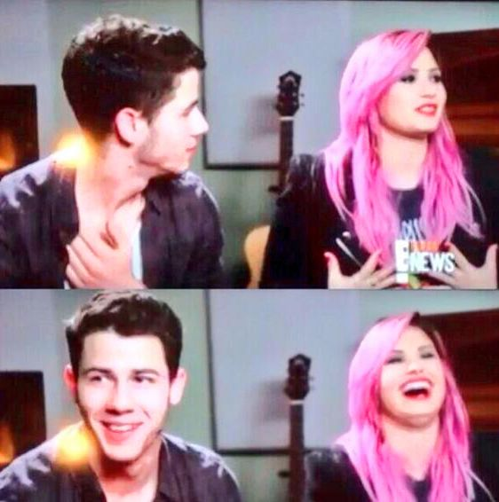 Demi and nick jonas, She dated the wrong Jonas brother.