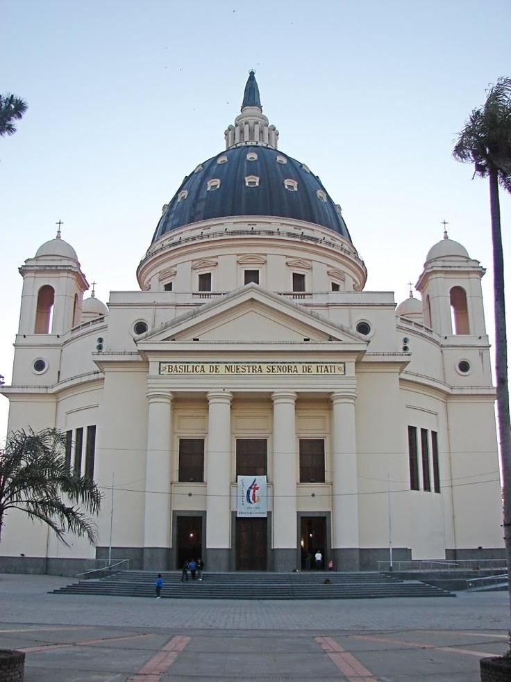 """""""""""Itati"""""""" lo mas famoso, La Basilica de Nuestra Señora de Itati, para todo correntino, fiel devoto, tanto como para el de Buenos Aires, la de Lujan. Corrientes, Argentina"""