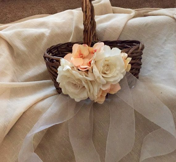 Flower Girl Basket by Broomstiks on Etsy