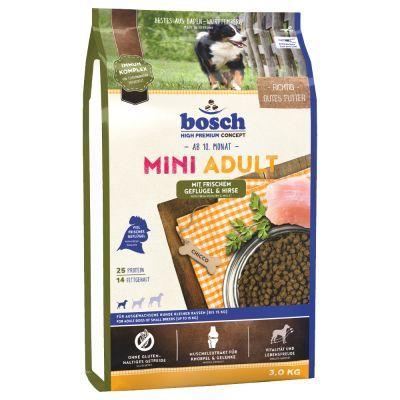 Bosch Mini Adult szárnyas & köles