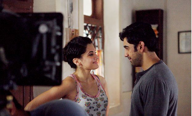 First glimpses of Baarish Aur Chowmein starring Amit Sadh and Taapsee Pannu