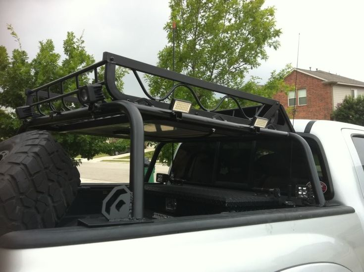 Bed Rack on Tacoma