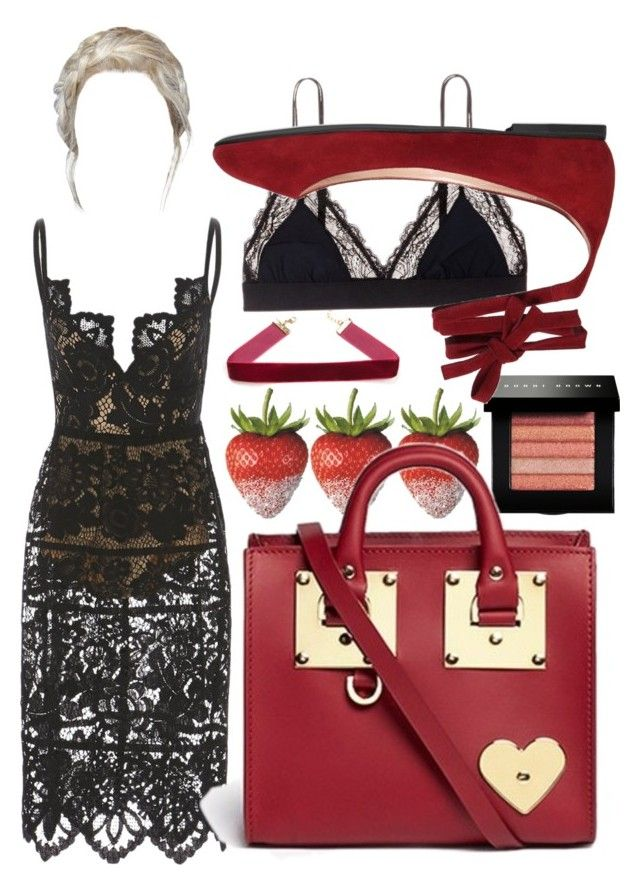 """""""Untitled #8"""" by fatgandalfqwq on Polyvore featuring Bobbi Brown Cosmetics, Sophie Hulme, LoveStories and Gianvito Rossi"""