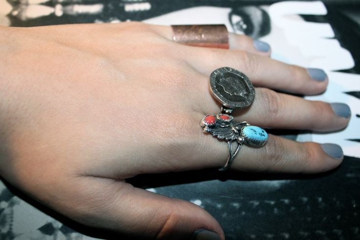DIY Coin Ring. I'm going to make this using coins left over from my trip to London and Paris. IMG_2725