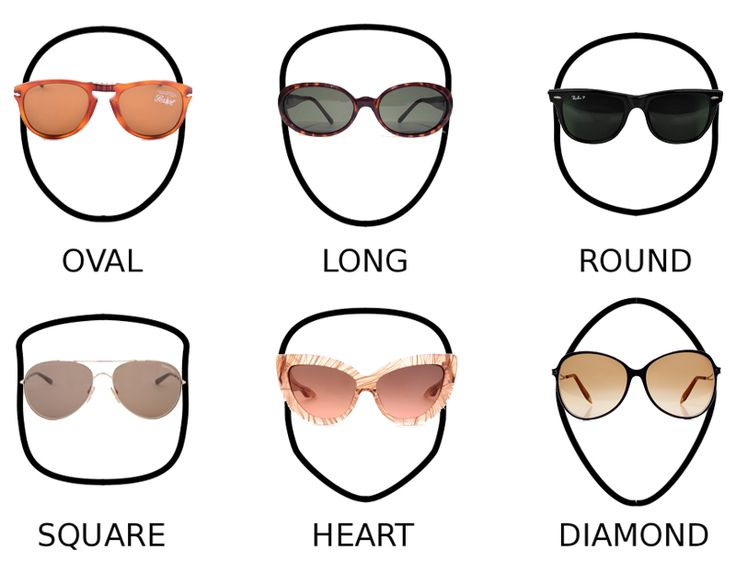 Eyeglass Frames For Oblong Face Shapes : 86 best images about Face Shapes on Pinterest Eyewear ...