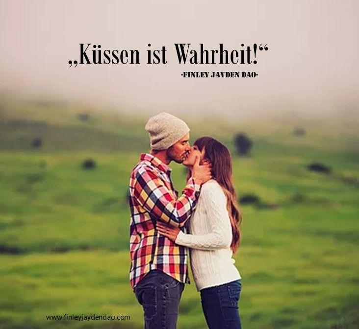 """""""Küssen ist Wahrheit"""" Text u. geistiges Eigentum: Finley Jayden Dao Bild: wix web: www.finleyjaydendao (at) com #love #liebe #kuss #küssen #verliebtheit #ewigeliebe #lovestory #zitate #zitat #beautiful #finleyjaydendao"""