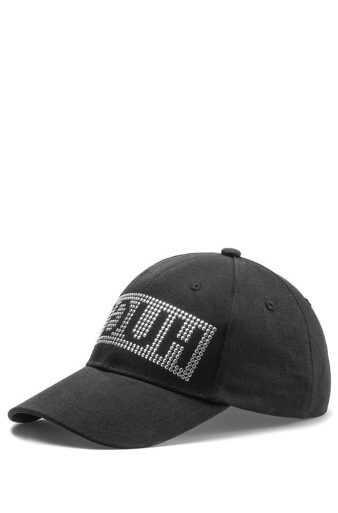 ecebf0b2 New Hugo Boss Mens Men-X 539 Baseball cap studded Reverse Logo #HUGOBOSS  #BaseballCapstuddedreverselogo