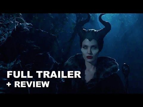 Maleficent 2014 Official Trailer + Trailer Review : Angelina Jolie - HD ...