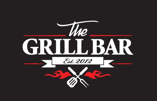 The Grill Bar - logo identity