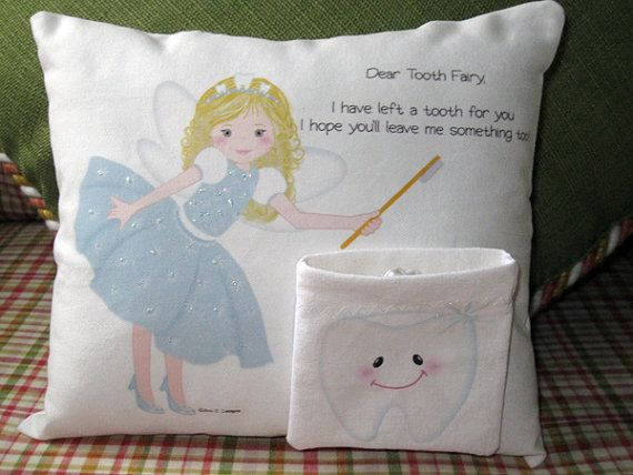 80 best Tooth Fairy Pillows images on Pinterest Tooth fairy pillow, Tooth pillow and Teeth