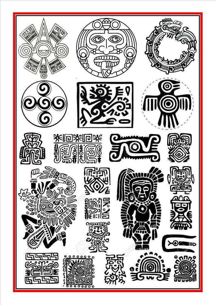 Aztec symbols 1