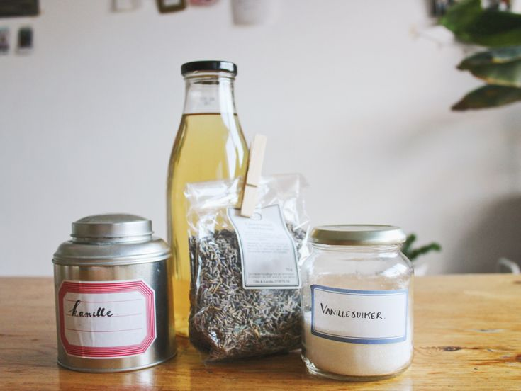 Alcoholvrij: ijsthee van kamille en lavendel
