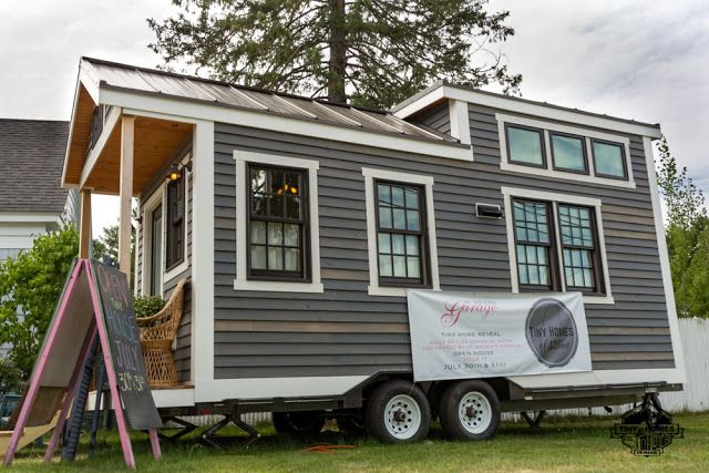 Fabulous A Charming One Bedroom Tiny House On Wheels Designed And Complete Home Design Collection Papxelindsey Bellcom