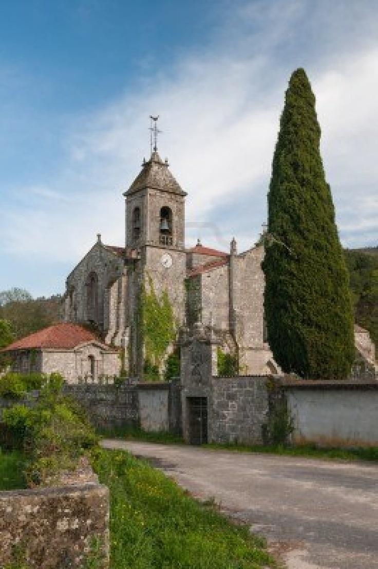 Iglesia del Monasterio del Cister de Santa María de Melón, Ourense, España