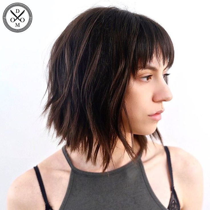 how to cut bangs for thick wavy hair