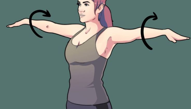Cercle avec bras