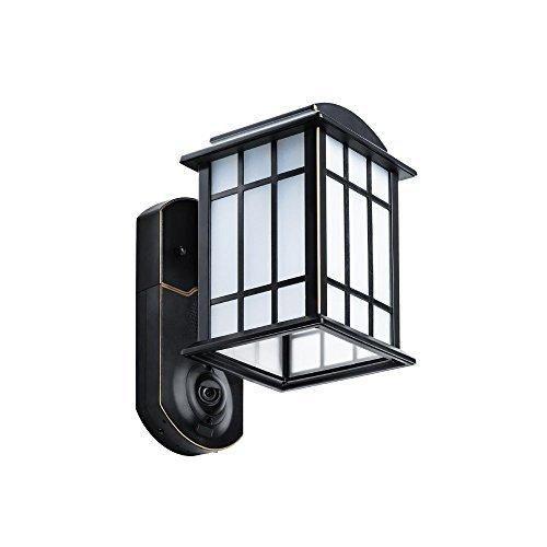 Kuna Smart Home Security Outdoor Light & Camera Craftsman Bronze
