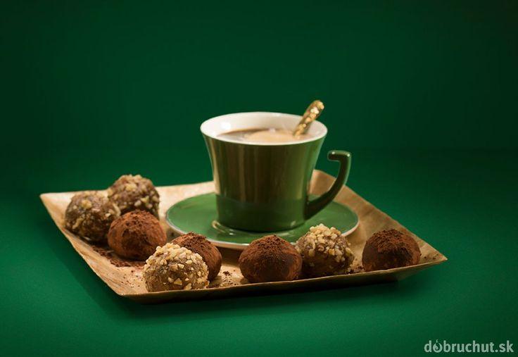 Lahodné kávové guľôčky