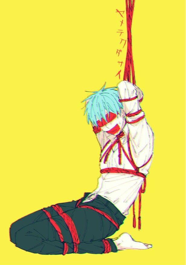 #Kuroko_Tesuya bondage ( ͡° ͜ʖ ͡°)
