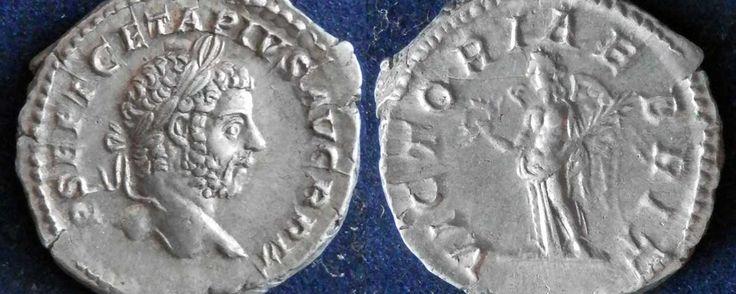 Римская империя, Гета, 198-211 годы, денарий.