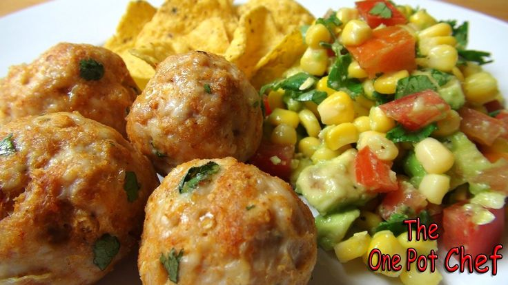 ONE POT CHEF COOKBOOKS ON iTUNES BOOKSTORE: http://itunes.apple.com/au/artist/david-chilcott/id478668534?mt=11 Mexican Meatballs with Salsa Salad is a delici...
