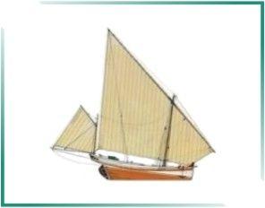 PORTUGAL MARÍTIMO: BARCOS TRADICIONAIS PORTUGUESES - Canoa da Picada