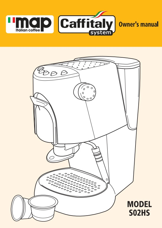 Perfecto coffee machine instruction manual