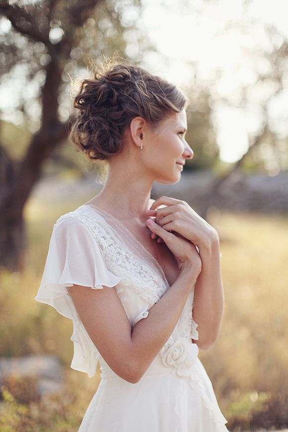Romantic couples session by Sonya Khegay front of the dress 1 of 2