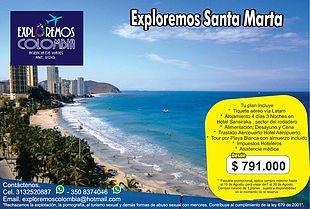 EXPLOREMOS COLOMBIA AGENCIA DE VIAJES , VUELOS Y HOTELES | Promociones