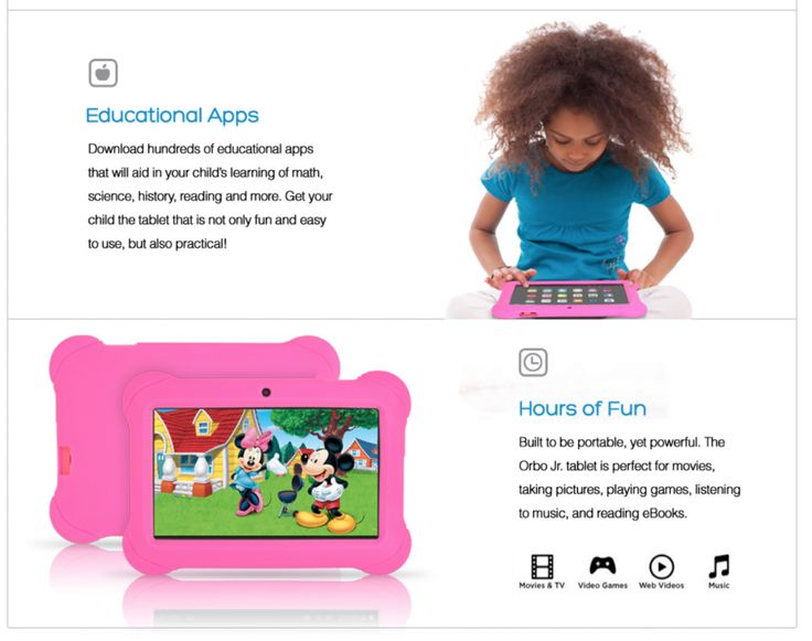 Orbo Jr. Multi Touch 7″ Tablet PC – Kids Edition – Product Review