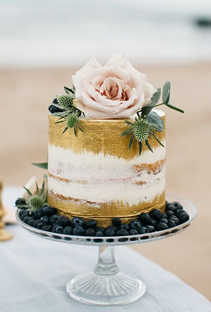 GOLD LEAF Cakes can be flashy, too, you know. Add a bit of gold (or silver... or bronze) leaf to take things to the next level. Cake Couture NI.