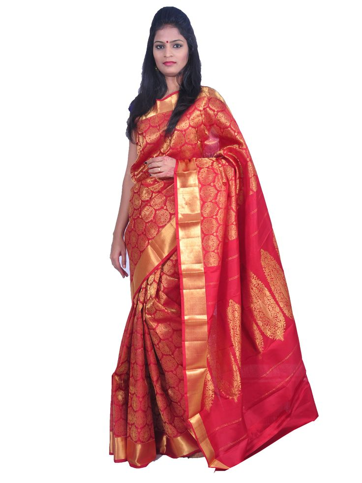 New Arrivals Arrived kanchipuram Sarees With New Design. These Saree Gives You a Traditional Look of South India. This Saree Worn at Wedding, Parties, Festivals, Functions.