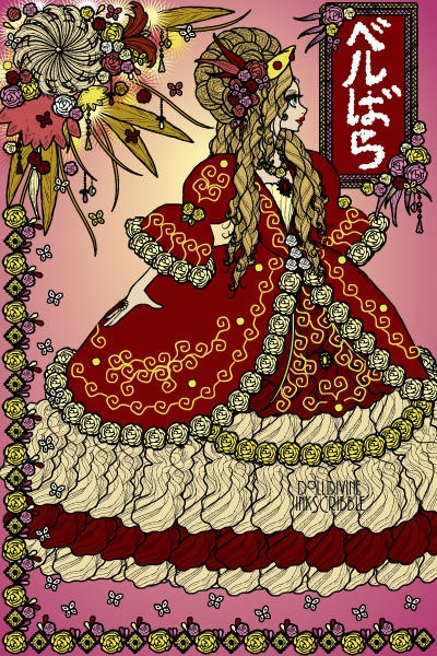 Marie Antoinette (Takarazuka: The Rose of Versailles ベルサイユのばら) ~ by takarazuka_fan1