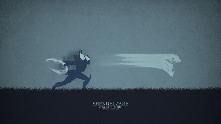 Download Vengeful Spirit Shendelzare Dota 2 Minimalist by Sheron1030 4k 3840x2160