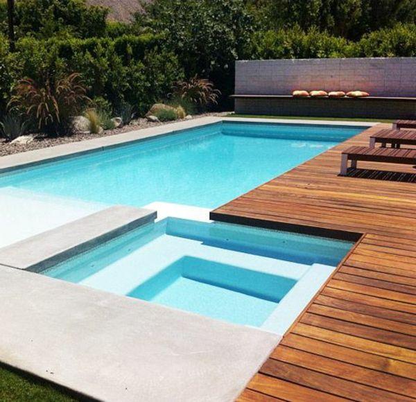313 besten Pool Bilder auf Pinterest Traum-Pools, Modern und Gärten - moderne gartengestaltung mit pool
