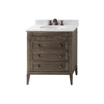 find shop for and buy ronbow 30 inch vanity with 3 drawers at qualitybath