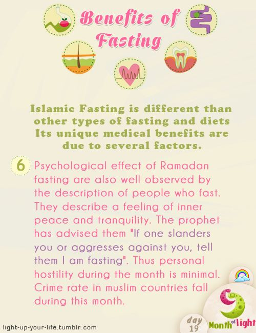 Month Of Light Health Benefits Of Islamic Fasting Benefit (6) written by: Dr. Shahid Athar