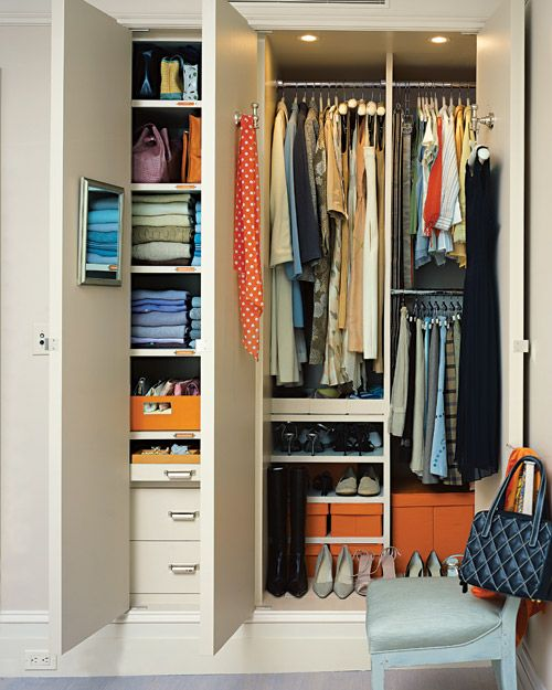 Bedroom Without Closet: 235 Best Closet Organization Ideas Images On Pinterest
