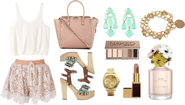 """""""Hint of Mint"""" by desiringeden on Polyvore"""