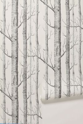 woods: wallpaper from anthropologie: this would look great in my grandsons Where The Wild Things Are room.