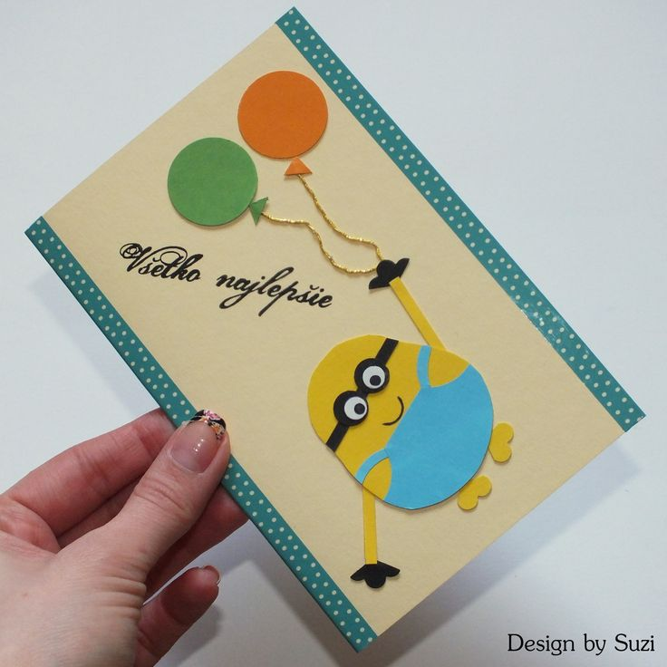 Minion Greeting Card