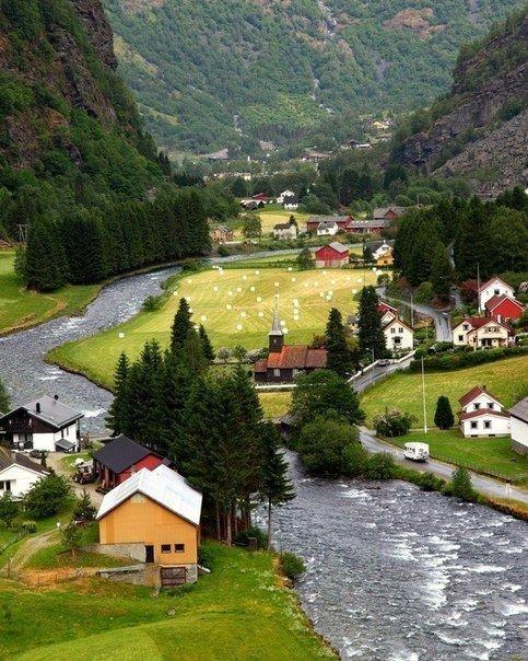 Флом, Норвегия - Путешествуем вместе