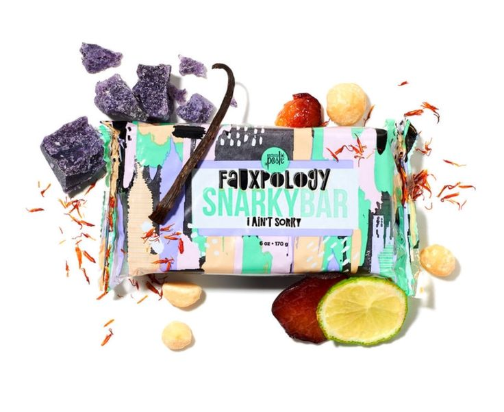 This super scrubby bath bar removes dry, dead skin thanks to exfoliating eco-beads made with plant based sugars, and gentle coconut shell powder, plus soothing shea butter and softening plum oil, wrapped up in sensual bergamot and vanilla musk. Rub over skin in the shower or bath. Rinse thoroughly and follow with moisturizer. Not recommended for face.