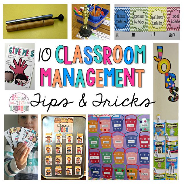 10 Classroom Management tips & tricks