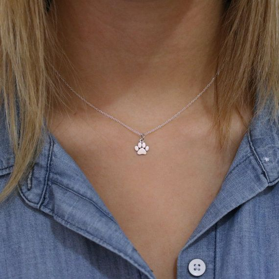 Pata collar de impresión  impresión collar de por TNineandCompany