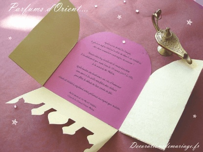 Jasmine & Aladin invites!    http://www.ameliste.fr/images/stories/decorations/theme_oriental_faire_part_texte.png