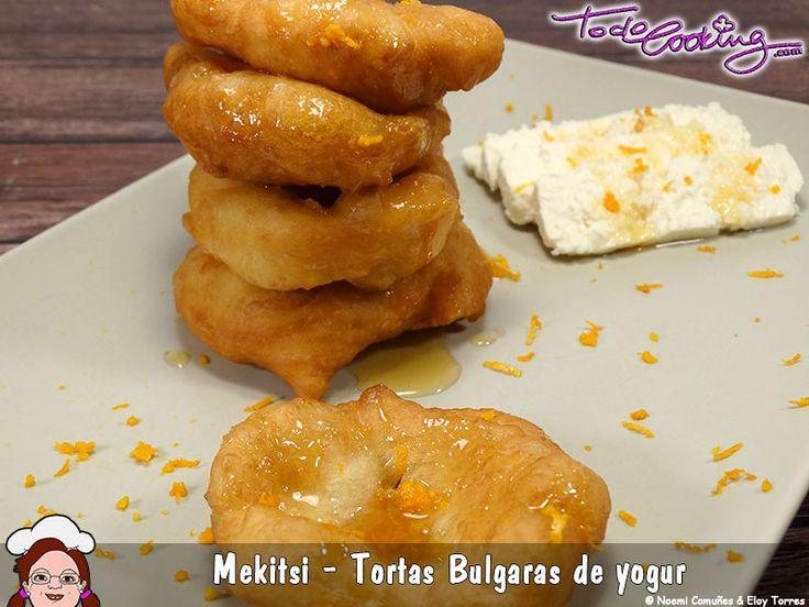 Mekitsi o tortas búlgaras de yogur