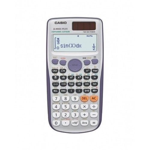 CALCULADORA CASIO CIENTIFICA FX-991ES PLUS-SOLAR DUAL POWER ESCOLAR