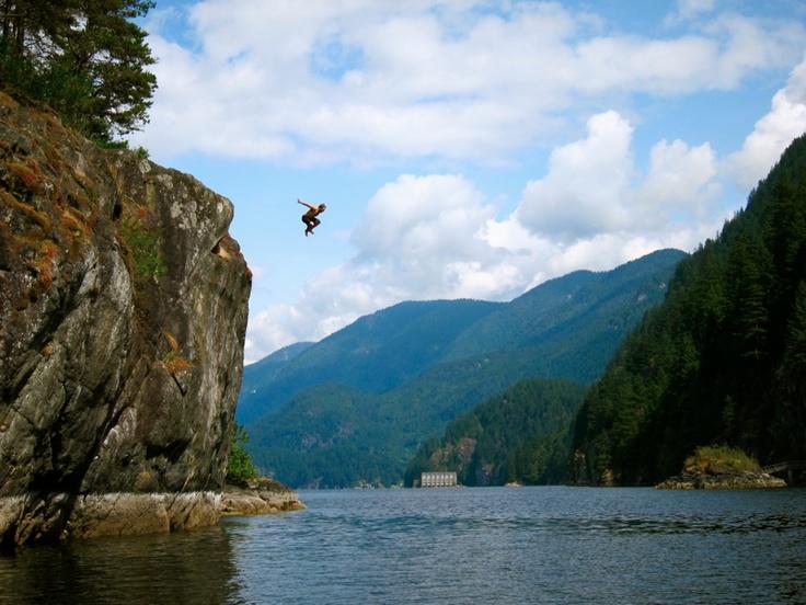 Fun, deep cove, North Vancouver Canada